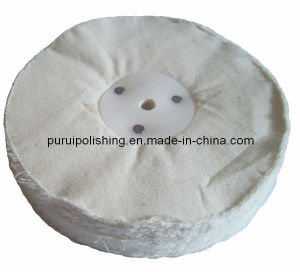 """8""""X1"""" Loose White Cotton Buffing Polishing Wheel for Final Polishing pictures & photos"""