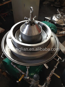 Dhy400 Automatic Discharge Olive Oil Disc Centrifuge Machine pictures & photos