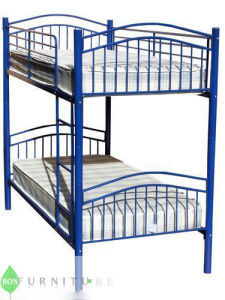 Colored Metal Bunk Bed/ Metal Bed pictures & photos