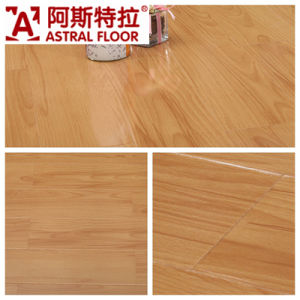 German Technical Mirror Surface (u-groove) Laminate Flooring (AD386) pictures & photos