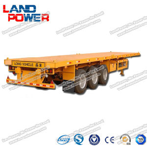 Flat Bed Container Semi-Trailer