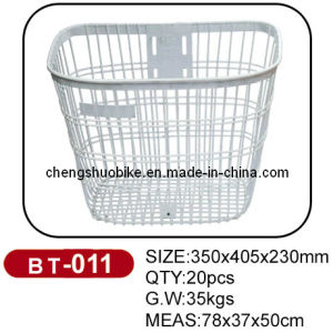 Fashion Lady Bike Baskets of High Quality pictures & photos