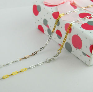 Sterling Silver Neckalce Jewelry, 925 Silver Chain, Fashion Jewelry (GT165) pictures & photos