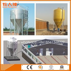 Automatic Poultry Breeding Equipment Feed Silo by Galvanized Steel pictures & photos