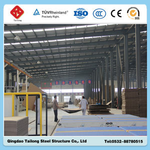 Prefab Light Steel Structure Workshop for Sale pictures & photos