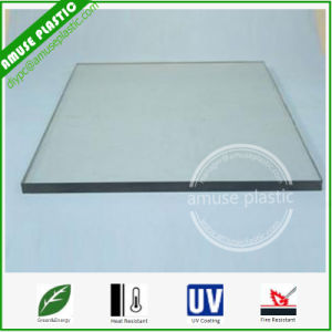 UV Resistant Transparent Plastic Polycarbonate Panels Flat PC Roofing Sheets pictures & photos
