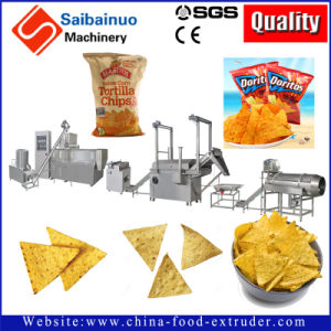 Doritos Tortilla Nacho Corn Chips Processing Making Machine pictures & photos