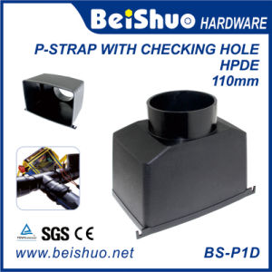 HDPE Black Drainage System Coupling P-Strap with Checking Hole pictures & photos