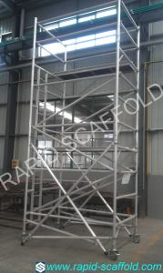 Aluminium Moving Tower Building Materials Scaffolding pictures & photos