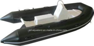 Aqualand 13feet 4m Rib Fishing Boat/Rigid Inflatable Motor Boat (rib400) pictures & photos