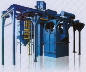 Q38, 48 Hanger Type Blasting Machine for Middle and Small-Sized Work Pieces