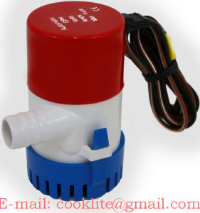 Electric Bilge Pump / DC Submersible Water Pump 12V 350GPH pictures & photos