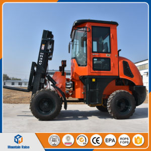 China Manufacturer 3ton - 10ton off Road Forklift with Lowest Price pictures & photos