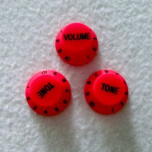 China Quality Volume and Tone Control Red Strat Guitar Knob pictures & photos