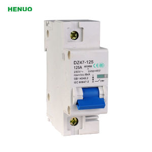 Ce Approved Dz47-125 Types of Electrical Circuit Breaker pictures & photos