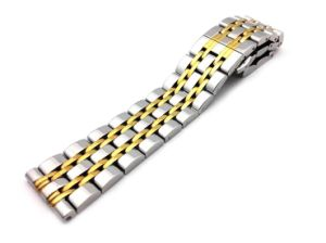 New Stainless Steel 7 Beads Watch Band Strap 14 16 18 20 22mm Watchband High-End Men&Women Classic Wristband pictures & photos