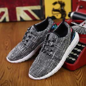 2017 Wholesale Breathable Canvas Shoes Men Casual Shoes Running Sport Shoes pictures & photos