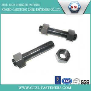 ASTM A193 B7 Stud Bolt with A194 2h Heavy Hex Nut pictures & photos