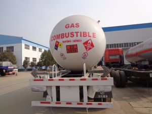 3 Axles 59.52cbm LPG Semi Trailer for Sale pictures & photos