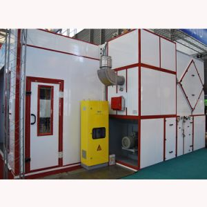 Water Curtain Spray Booth Ceiling Filter Wood Finishing Spray Booth with Ce pictures & photos