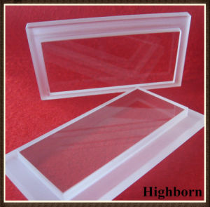 Transparent Customized Ladder Quartz Plate Board Supplier pictures & photos