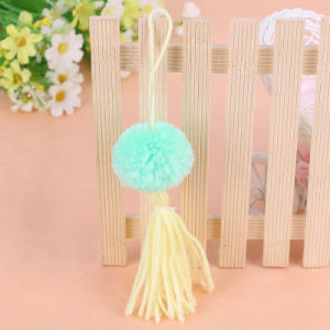 Garment Accessories Fringe Yellowed POM Poms pictures & photos