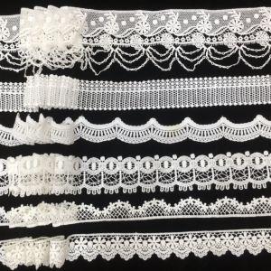 Crochet White Wedding Trimming Lace, Milk Silk Venice Lace Trim, Factory Lace Border pictures & photos