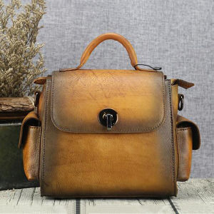100% Real Leather Lady Crossbody Tote Bags Online Hot Design Women Handbag From China Emg5212 pictures & photos