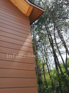 Wooden House with WPC Composite Wall Cladding/Decking/Railing pictures & photos