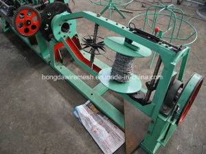 China Automatic Double Stranded Twisted Barbed Wire Mesh Making Machine pictures & photos