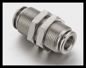 Stainless Steel Pneumatic Push in Fittings Air Hose Fittings pictures & photos