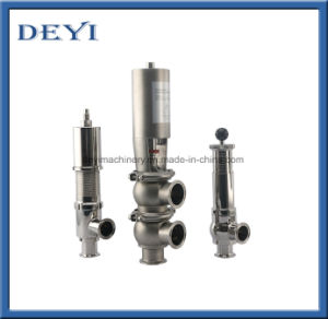 Stainess Steel Sanitary Reversal Valves with Control Head pictures & photos