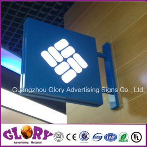 Acrylic Wall Silk-Screen Vacuum Forming LED Light Box pictures & photos