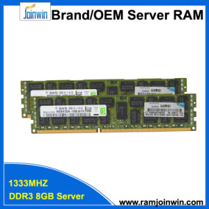 Low Voltage Registered PC3l-10600r DDR3 2rx4 8GB Server RAM Price pictures & photos