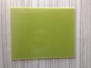 Epoxy Glass Laminate Fr4 (Yellow color) pictures & photos