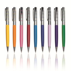Multicolored Promotion Plastic Ball Pen pictures & photos