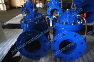 Hydraulically Remote Control Water Level Float Ball Valve (GL100X) Diaphragm/ Piston pictures & photos