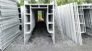 Powder Coated Walk-Thru U Frame Construction Scaffold Factory pictures & photos
