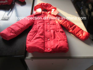 Clothing, Apparel & Garment (Sweater, Uniform, Evening dress, Coat, Padded Jacket, Scarf) Quality Control Inspection pictures & photos