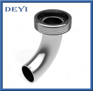 Sanitary Stainless Steel Hygienic 90 Degree Male-Welding Pipe Elbow (DY-E05) pictures & photos