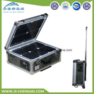 300W Portable Solar Power System Solar Panel Kit Solar Charger Case pictures & photos