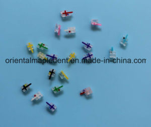 Orthodontic Ceramic Sapphire Brackets Sapphire (Edgewise/Roth/Mbt) pictures & photos