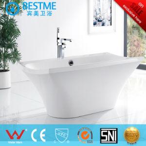 Hot Sale Indoor Art Acyrlic Bathtub (BT-M135) pictures & photos