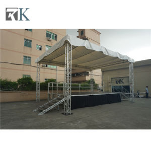 Rk Hot Selling Aluminum Portable Stages with Truss for Sale pictures & photos