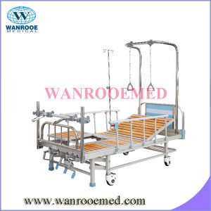 Double Arm Hospital Orthopedic Traction Bed pictures & photos