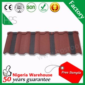 Stone Coated Roofing Metal Tile Steel Roofing Tile for Nigeria pictures & photos