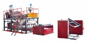 PE Plastic Air Bubble Sheet/Film Extrusion Machine (JG-GB) pictures & photos