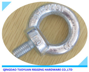 Carbon Steel Drop Forged Galvanized Lifting Eye Bolt (DIN580) pictures & photos