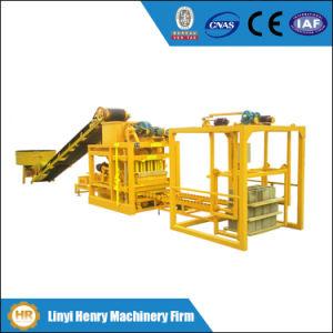 Qtj4-26cqtj4-26c Concrete Cement Hollow Block Machine with Mixer, Conveyor Belt pictures & photos