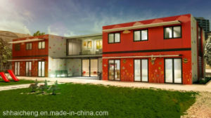 Good Container House/Modular Prefab House/Modular Home Manufacturers/Flat Pack Homes (shs-mh-edu016) pictures & photos